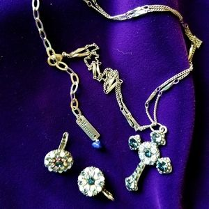 Mariana Spirit of Design Cross Necklace Set